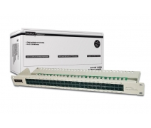 DIGITUS 50 PORT CAT-3 ISDN PATCH PANEL(DN-91350-1)