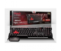 BLOODY B640 Q GAMER MM KLAVYE SİYAH USB MEKANİK