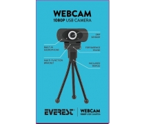 EVEREST SC-HD03 FULL HD WEBCAM (1080p)