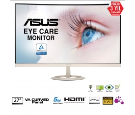 27 ASUS VZ27VQ FHD IPS 5MS HDMI/DP CURVED Eye Care