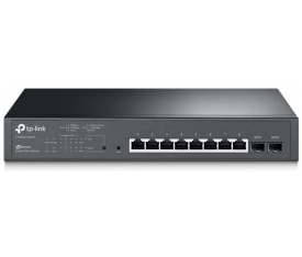 TP-LINK T1500G-10MPS 8 PORT GIGABIT 8 PORT POE SWITCH 2 SFP (116W)