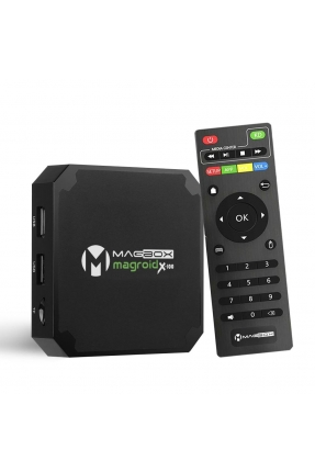 MAGBOX MAGROID X-100 S905W 2GB DDR RAM 16GB ROM 4K ULTRA HD MİNİ ANDROID 9.0 4K IP TV BOX