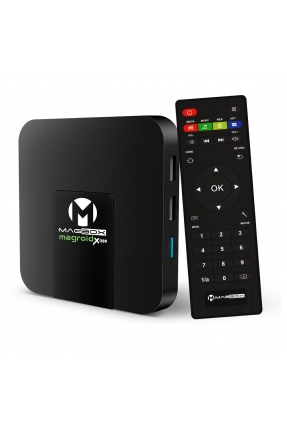 MAGBOX MAGROID X-200 S905W 2GB DDR RAM 16GB ROM 4K ULTRA HD MİNİ ANDROID 9.0 4K IP TV BOX