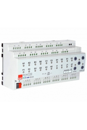 KNX Room Control Unit 12ch, Fancoil, Switch, Blind actuator