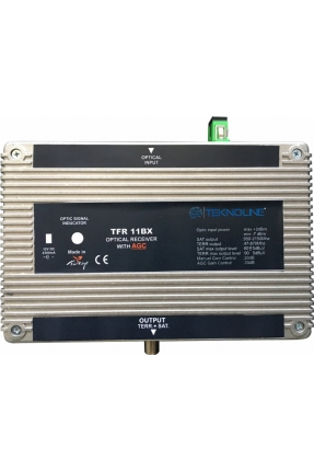 TFR 11BX Fiber Optik Receiver 1 RF + 1 IF