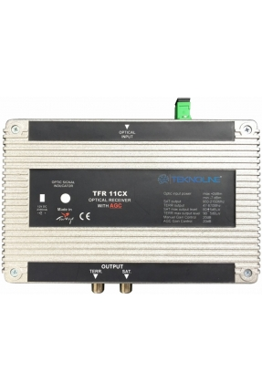 TFR 11CX Fiber Optik Receiver 1 RF + 1 IF