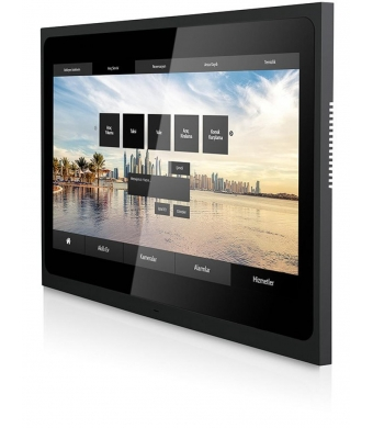 VALESA TOUCH PANEL 10.1 inch ,  2x ethernet, 1x knx , 8ch input,6 output, 1 x RS485,